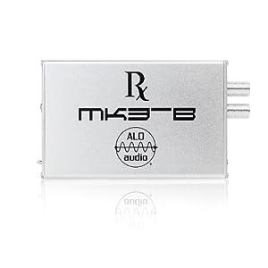 Rx MK3-B シルバー ポータブルヘッドホンアンプ ALO-1177