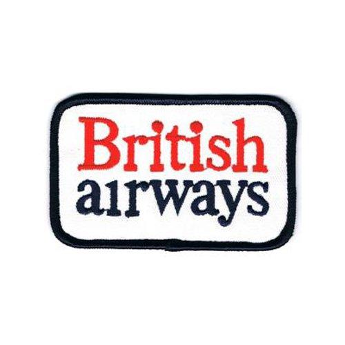 British airways ( ブリティッシュ エアウェイズ ) / ロゴ マーク ・ アイロン ワッペン パッチ