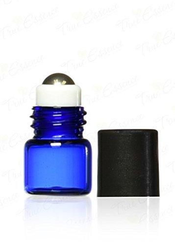 true-essence-1-ml-1-4-dram-cobalt-blue-glass-micro-mini-roll-on-glass-bottles-with-metal-roller-ball