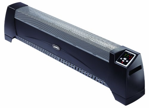 B002Q4EYEQ Lasko 5624 Low Profile Room Heater, Black
