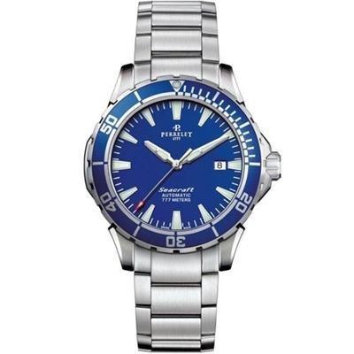 Perrelet Seacraft 3 Hands-date 777m Diver Watch A1053/c