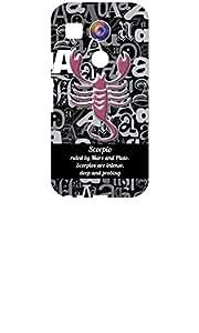 Zodiac Print Hard Back Cover for LG Nexus 5X