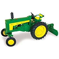 Big Sale Ertl John Deere 730 Tractor with Blade, 1:16 Scale