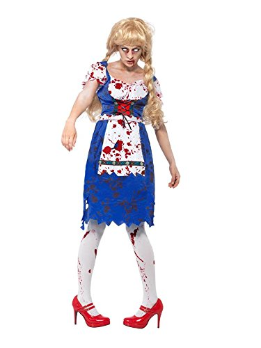 Smiffy's Women's Zombie Bavarian Female Costume