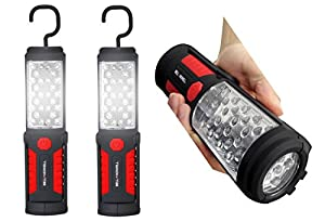 bell and howell torch lite handheld flashlights with 33 led bulbs. Black Bedroom Furniture Sets. Home Design Ideas