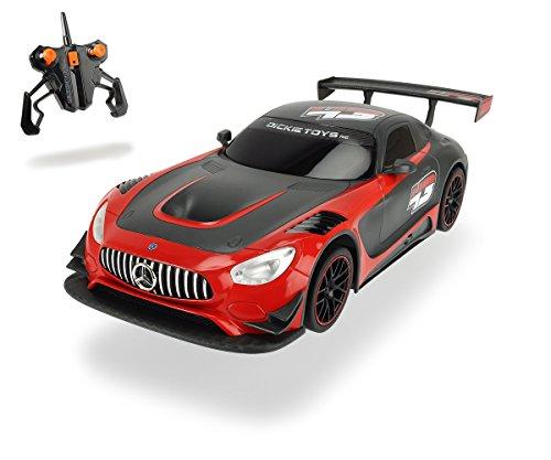 Dickie-Toys-201119103-Rennauto-Mercedes-AMG-GT3-mit-Batterien-30-cm