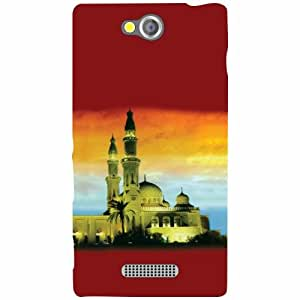 Sony Xperia C Back cover - Buildings Designer Cases