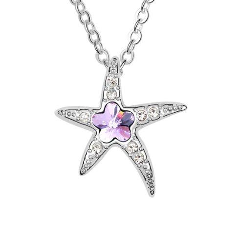 Boxingcat Fine Jewelry Swarovski Style Clear Austrian Crystal Pendant Necklaces Bgca5983 front-685686