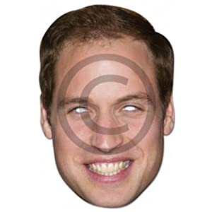 Prince William - Celebrity Masquerade Fun Party Masks (William)