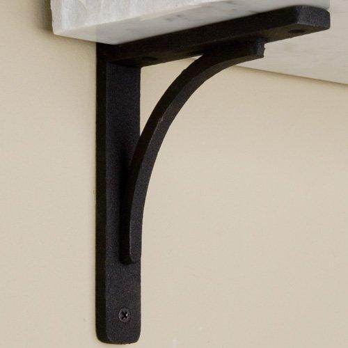 Black Cast Iron Shelf Brackets Rustic Cast Iron Shelf Bracket