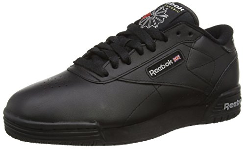 Reebok Ex-O-Fit Clean Logo Int - Scarpe da Ginnastica Basse Unisex - Adulto, Nero (Black (Int Black/Silver/Silver)), 37.5