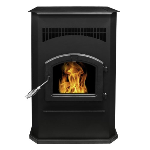Purchase Pleasant Hearth Cabinet Style 50000 BTU's Pellet Stove with 120-Pound Hopper