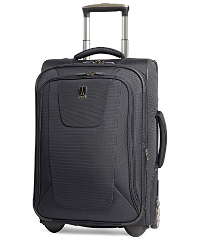 Travelpro Luggage Maxlite3 22 Inch Expandable Rollaboard, Black, One Size image