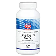Rite Aid One Daily, Men's Multi, Dietary Supplement 100 ct