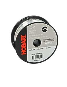 Hobart H381806-R18 1-Pound ER4043 Aluminum Welding Wire, 0.030-Inch