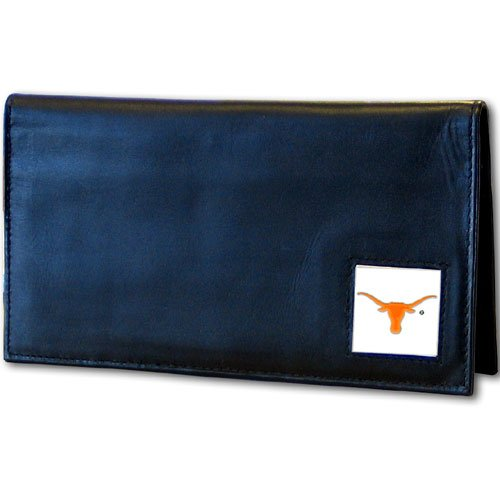 Texas Longhorns Leather Checkbook Cover at Amazon.com