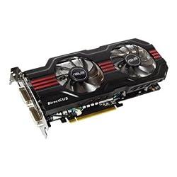 ASUS ENGTX560 DCII OC/2DI/1GD5 GeForce GTX 560 (Fermi) 1GB 256-bit GDDR5 PCI Express 2.0 x16 HDCP Ready SLI Support Video Card, ENGTX560 DCII OC/2DI/1GD5