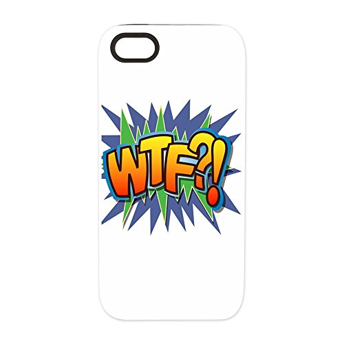 iPhone 5 or 5S Tough Rugged Case Text Abbreviation WTF?! coupon codes 2016