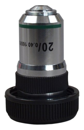 Omax 20X Achromatic Objective Lens For Compound Microscopes