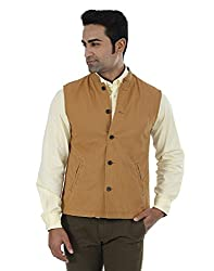 Indian Terrain Men's Jackets (8907190128540_Brown_XX-Large)