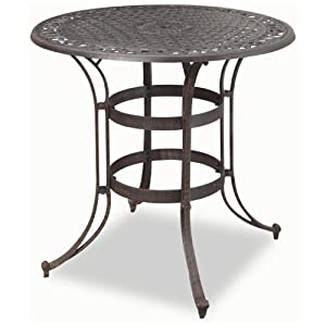 home style 5554 35 biscayne high top bistro