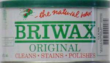 Briwax (Clear) Furniture Wax Polish, Cleans, stains, and polishes. (Furniture Wax For Scratches compare prices)