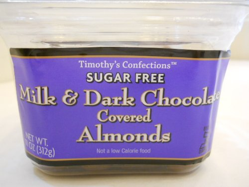 Timothy's Confections Sugar Free Milk &amp; Dark 
