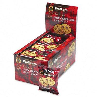 Shortbread Cookies Chocolate Chip 2 Cookies/Pack 24 Packs/Box