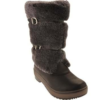 UGG Australia Women's Lilyan Casual Shoes,Black,6 US