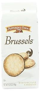 Pepperidge Farm Brussels Cookies, 5.25-ounce (pack of 4)