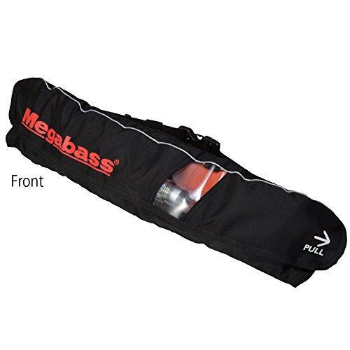 メガバス(Megabass) LIFE SAVER(WAIST)(ライフセーバー) BLACK MEGABASS 34521の商品画像