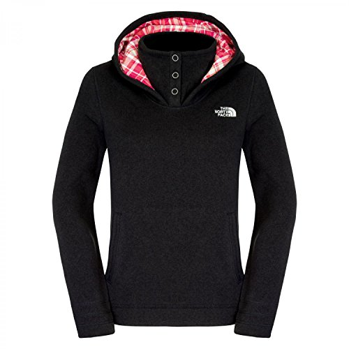 North Face Womens Crescent Sunset Hoodie 2015, Tnf Black Heather, Xl