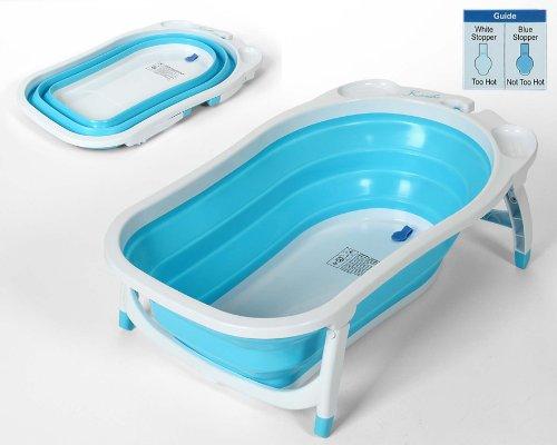 Ba era beb plegable con sensor de temperatura muebles de ba o online - Temperatura agua bano bebe ...