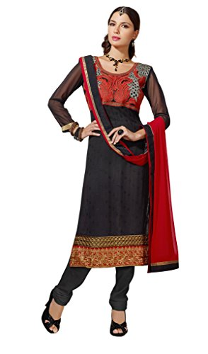 KVS FAB Black colour indian ladies wear Suit