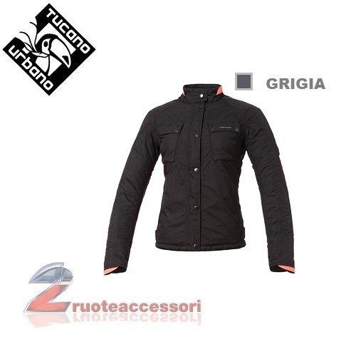 Tucano urbano 8944WF039GR6 bICILINDRICA-respirant, coupe-vent et étanche à women's jacket, taille xL (gris)