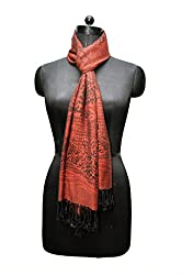 Bombay Fashion women's tiger printed viscose stole