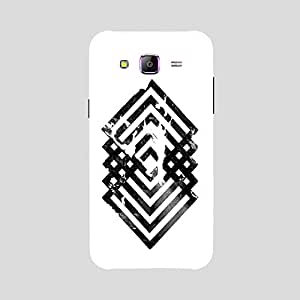 Back cover for Samsung Galaxy E5 Geometry Design