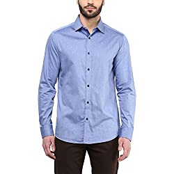 F Factor by Pantaloons Men's Shirt 205000005567683_Blue_40