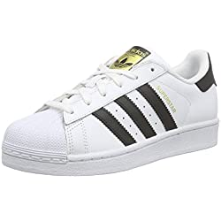 adidas Originals Superstar, Unisex-Kinder Sneakers, Weiß (Ftwr White/Core Black/Ftwr White), 37 1/3 EU (4.5 Kinder UK)