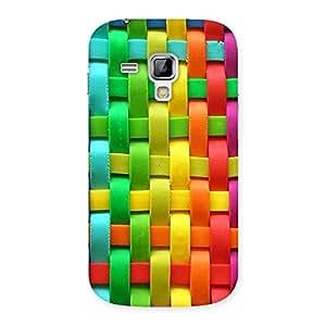 Ajay Enterprises world of colour Back Case Cover for Galaxy S Duos