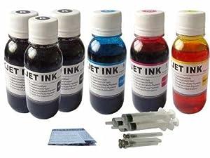 20 oz (600 ml) Jumbo Canon Printer Ink Refill Kit Color- Black