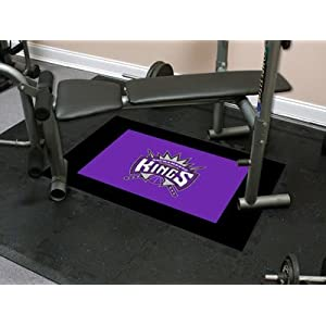 Sacramento Kings 18x18 tiles Nba Fitness Tiles NBA Modular Flooring Exercise Fitness Tiles