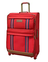 Tommy Hilfiger Berkeley Polyester Red Luggage Set (TH/BRK04055)