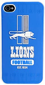 Forever Collectibles Detroit Lions Retro Hard Snap-On Apple iPhone 4 & 4S Case by Forever Collectibles