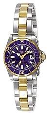 Invicta Womens 7064 Signature Collection Pro Diver Two-Tone Watch