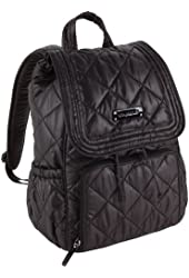 Vera Bradley Puffy Backpack (Black)