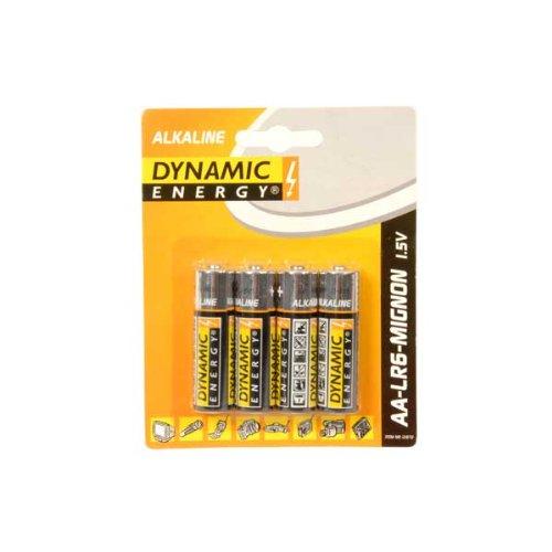 Dynamic Energy - Pile Alcaline - AA x 4 - (LR6)