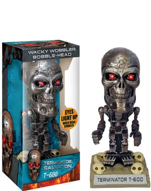 Picture of Terminator T-600 Wackey Wobbler Bobble Head (Bobble Head Figures)