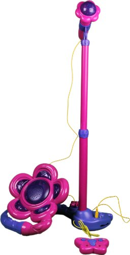 Dream Dazzler, Standing Sing Along Girls Mic With Lights & 24 Music Songs, Attaches To Any I Pod / Cd Player