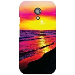 Motorola Moto G (2nd Gen) Back Cover - Waterside Designer Cases